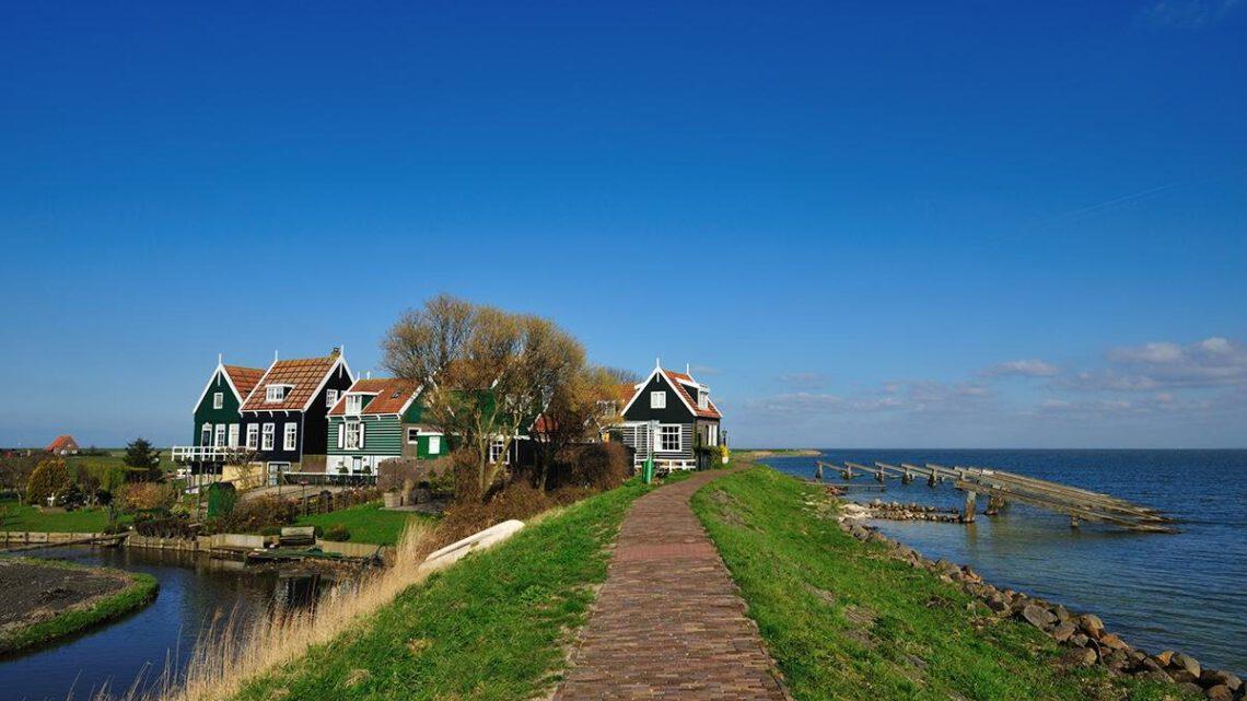 Mit dem Fahrrad durch Holland